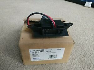 Details about HVAC Blower Motor Resistor Rear ACDelco GM 89018323 Original on