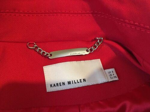 Millen rouge 8 Karen courte Veste taille 5qwCtxS