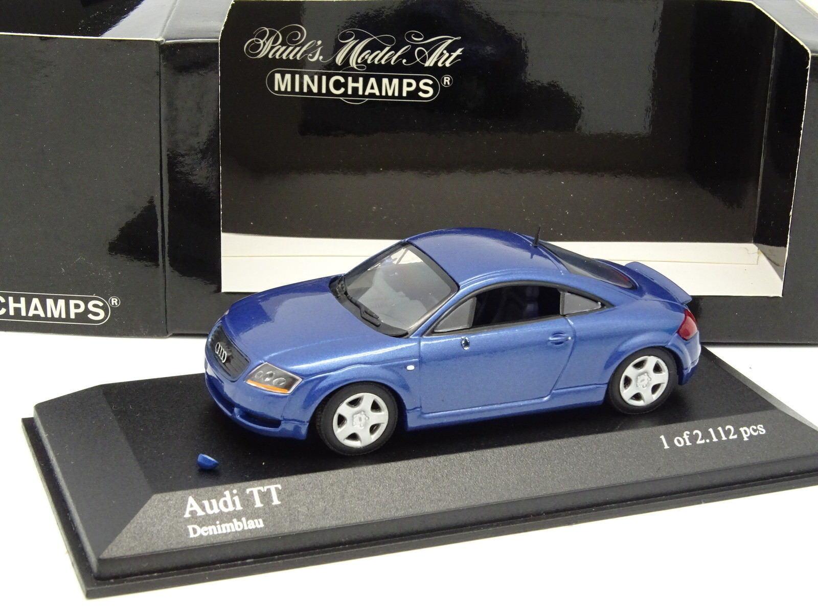 Minichamps 1 43 - Audi TT Denimblue