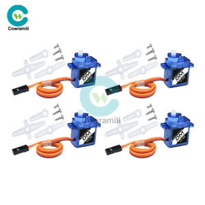 4PCS-Micro-RC-Servo-Motor-Mini-Gear-9G-SG90-For-RC-Helicopter-Airplane-Boat-Car