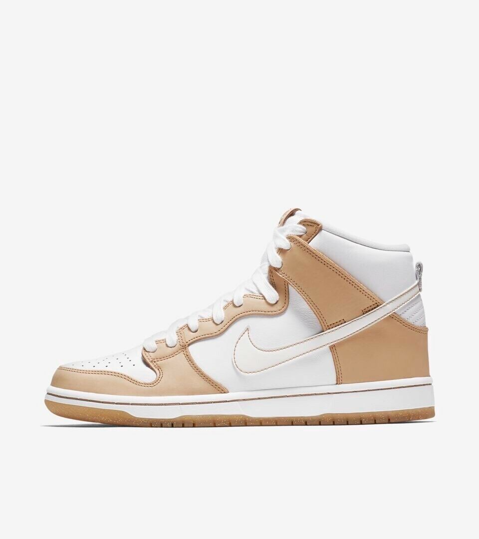 Nike SB Premier Dunk High Win Some Lose Some Vachetta 881758-217 Sizes 7.5-13