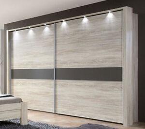 schwebet renschrank donna wiemann schrank absetzung w hlbar eiche s gerau nb ebay. Black Bedroom Furniture Sets. Home Design Ideas