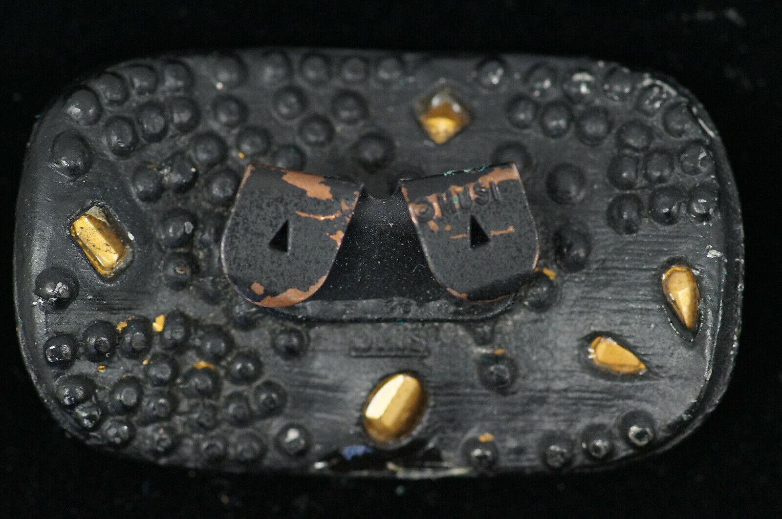 Lot of 5 Fashion Belt Buckles Gold Tone Colored Stones Etc - B2582 B4