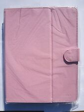 """Pink Multi Angle PU Leather Carry Case Stand for HP 9.7"""" Touchpad Tablet"""