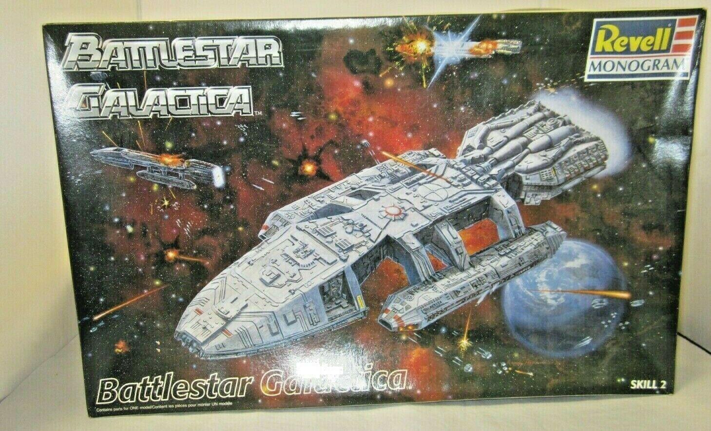 slåssstjärna Galactica modellllerlerl Kit Revell Monogram 1997 modellllerlerl