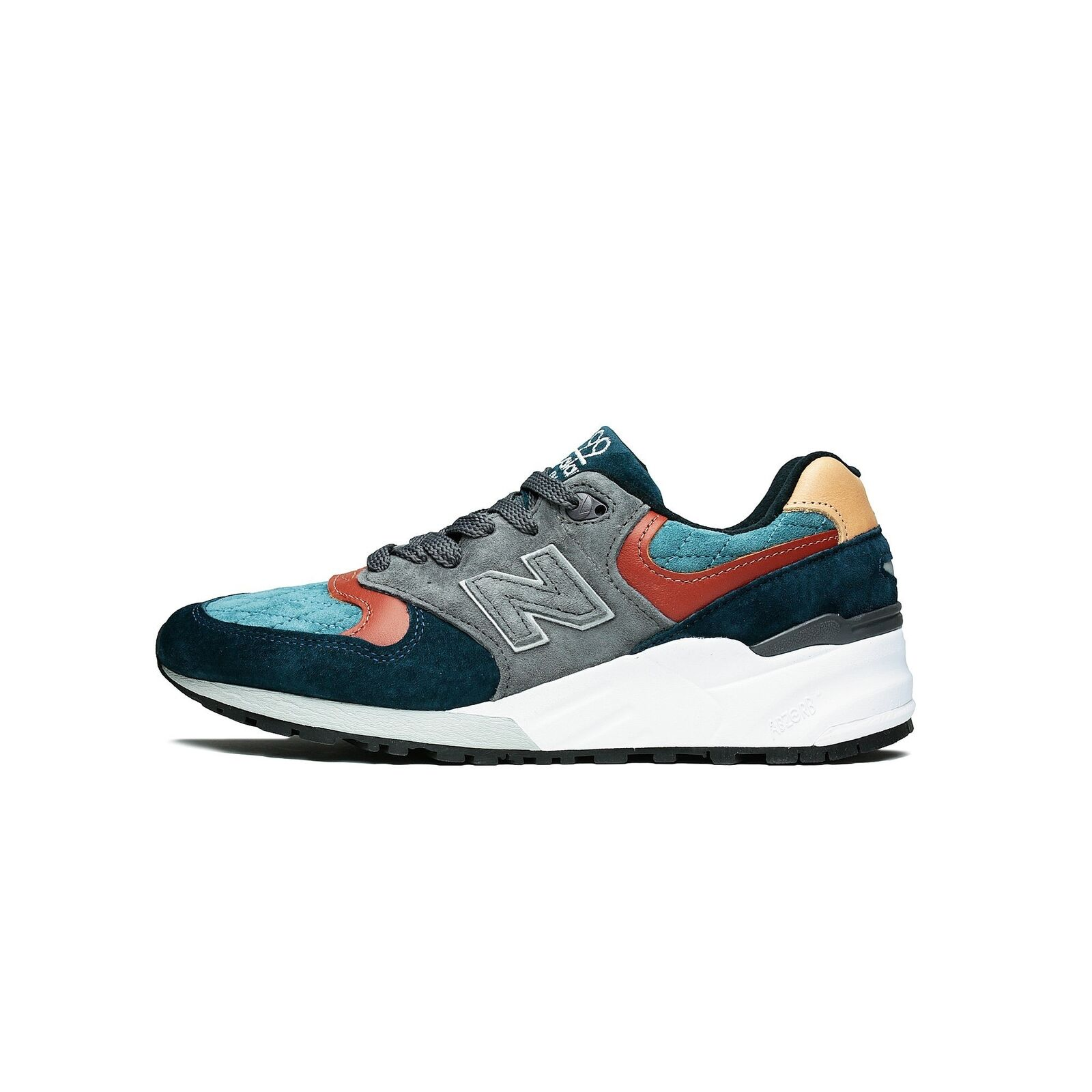 Mens New Balance 999 Made In USA bluee Grey Brown M999JTC