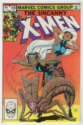 Uncanny X-Men 165 Choose One {Newsstand or Direct} Brood Jan 1983 Paul Smith