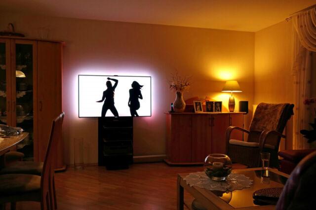 KODI LIGHT Plug&Play SET mit Raspberry PI 3 inkl. Ambilight bis 64