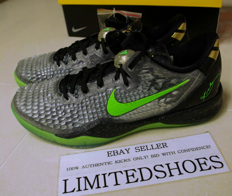 NIKE ZOOM KOBE VIII 8 SYSTEM CHRISTMAS SS 639522-001 mambacurial yoth pit viper