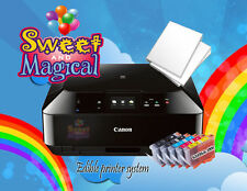 Canon MG6820/21TS5020 Edible Printer Bundle ,Ink & Large Frosting Sheets