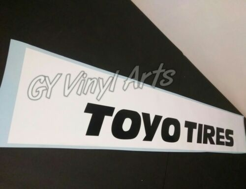 Compare to Toyo Tires,Windshield,Decal,Sun Visor,Banner,Car,Sticker,Graphic