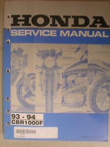 Honda 1993 CBR1000F Owner Manual 93