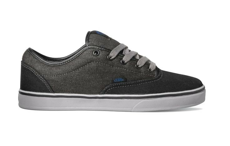 VANS AV Era 1.5 Black Light Grey Men s Classic Skate Shoes 6.5 ef8f68b15