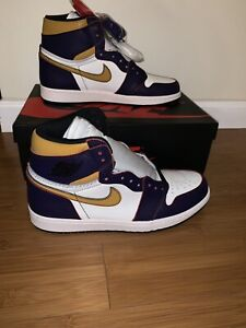 Details about Jordan 1 Retro High OG Defiant SB LA To Chicago, Sz 10.5,  CD6578-507, Authentic!
