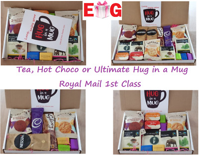 A5//A4 Personalised Letterbox Hamper Tea Coffee Hot Chocolate Hot Drink Gift Box