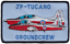Royal-Air-Force-Raf-Bac-Jet-Provost-Court-Tucano-Groundcrew-Patch-Brode miniature 1