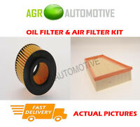 PETROL SERVICE KIT OIL AIR FILTER FOR SEAT IBIZA ST 1.2 60 BHP 2010-