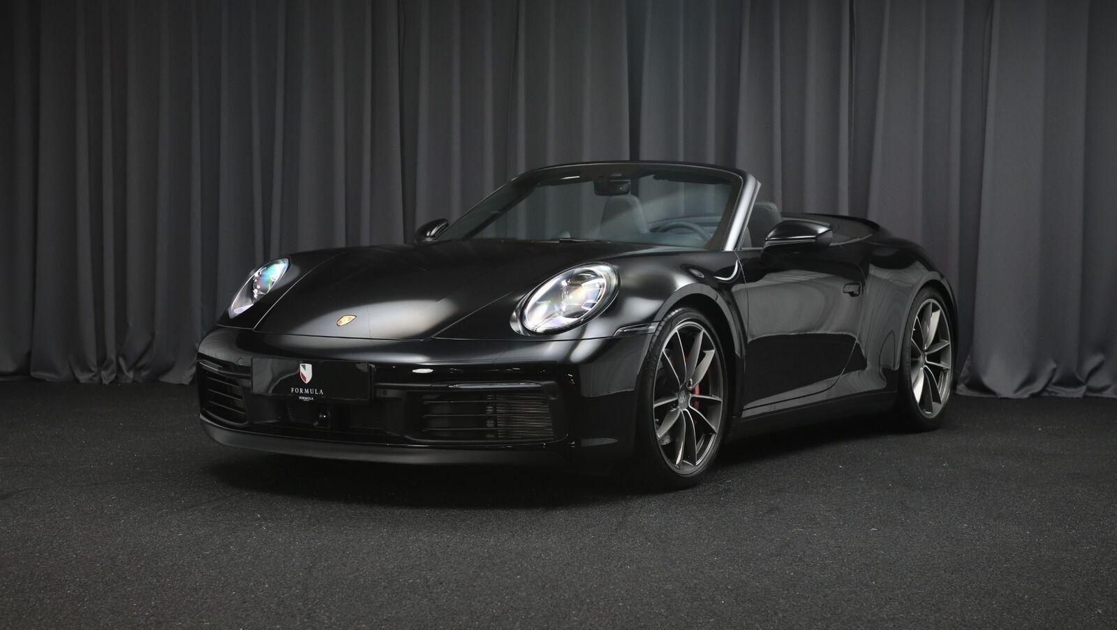 Porsche 911 Carrera 4S 3,0 Cabriolet PDK 2d - 19.729 kr.