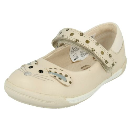 GIRLS TODDLER CLARKS IVA PIP FST HOOK /& LOOP CASUAL SUMMER MARY JANE SHOES SIZE
