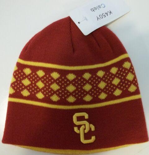 New USC Trojans Southern California Cal Beanie Skull Cap Knit Ski Hat men/'s