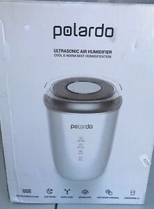 Details about Polardo Ultrasonic Air Humidifier Cool & Warm Mist Humidification