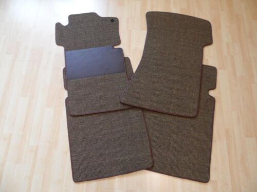 $$$ Sisal Kokos Fußmatten für Mercedes Benz R107 W107 SL TABAK NEU RUTSCHFEST