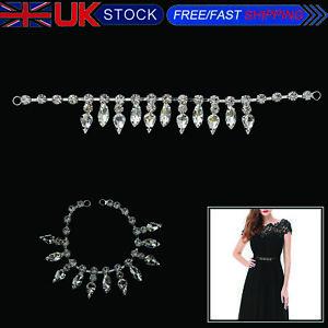 Silver-Sew-On-Rhinestone-Diamante-Applique-Sewing-Motif-for-Wedding-Bridal-Dress