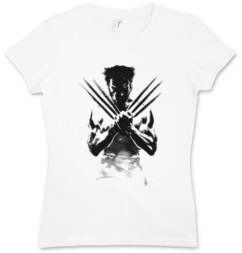 WOLVERINE SHADOW WARRIOR DAMEN T-SHIRT Weg des X-Men Kriegers Logan Jackman