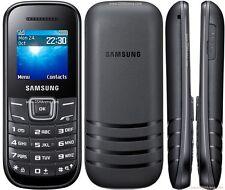 Samsung E1205 Mobile Phone Unlocked Sim Free Basic simple phone BLUE/BLACK