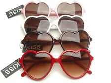 (4) PAIRS HEART SHAPED LOLITA SUNGLASSES wholesale lot costume party glasses