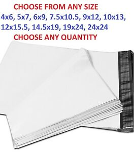 POLY-MAILERS-Shipping-Envelopes-Self-Sealing-Plastic-Mailing-Bags-All-Sizes