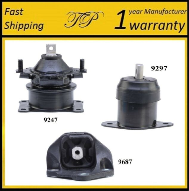 3 PCS FRONT MOTOR & TRANS MOUNT FOR 2007-2008 Acura TL 3