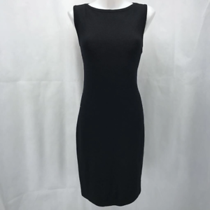 St-John-Black-Knit-Dress-8