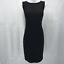 St-John-Black-Knit-Dress-8 miniature 1