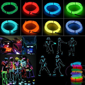 2M-LED-Flexible-Neon-Light-Glow-EL-Strip-Tube-Cool-Wire-Rope-Home-Car-Decor