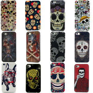 Coole-Kids-Totenkopf-Skull-Handy-Schutz-Huelle-Case-Cover-Fuer-Apple-iPhone-4-5-6