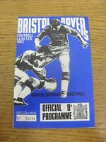 04/05/1969 Bristol Rovers v Swindon Town  (Light Crease). Thanks for viewing thi