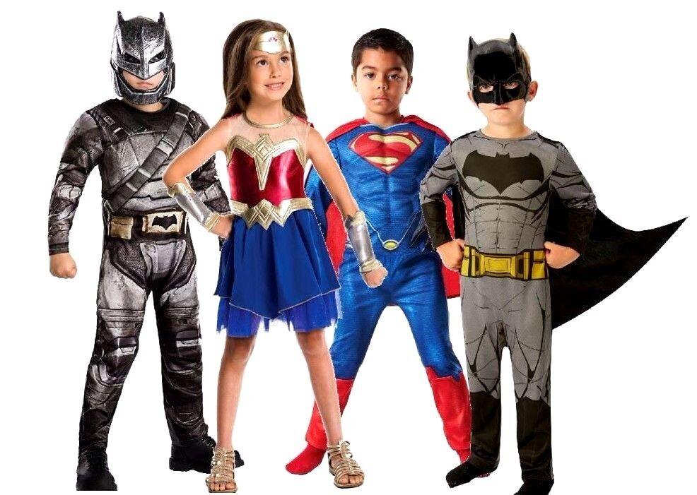 Child Wonder Woman Dawn Of Justice Superhero Fancy Dress Costume Girls New Kids