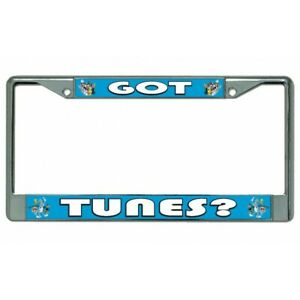 Graphics and More Looney Tunes Logo License Plate Tag Frame