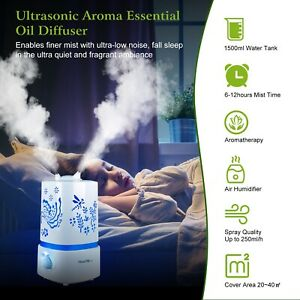 LED-Ultrasonic-Humidifier-Air-Purifier-Essential-Oil-Aroma-Diffuser-Aromatherapy