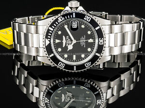 Invicta-Men-039-s-Submariner-Coin-Edge-Pro-Diver-Automatic-Exhibition-NH35A-SS-Watch
