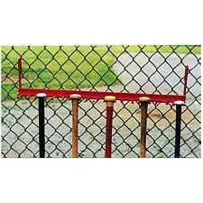 Steel Fence Bat Rack