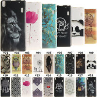 Silicone/Gel/TPU Soft Back Phone Case Rubber Protective Cover Skin For Lenovo