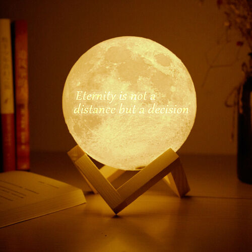 Lunar Lamp Customized USB Magical Touch Sensor Brightness Warm and Cool White