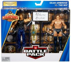 Bataille Hall Of Champions Dean Ambrose Vs The Miz Action Figure 2-pack
