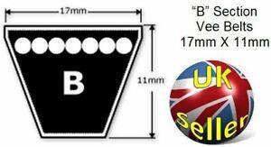 """Z67 Z Section Quality Vee Belt 10X6X67/"""",aka Z 67 or M67 1702mm Internal Length"""