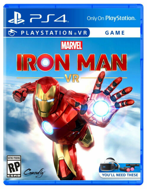 NEW! MARVEL IRON MAN VR (SONY PLAYSTATION 4, PS4) Factory Sealed! SHIPS by 11/30