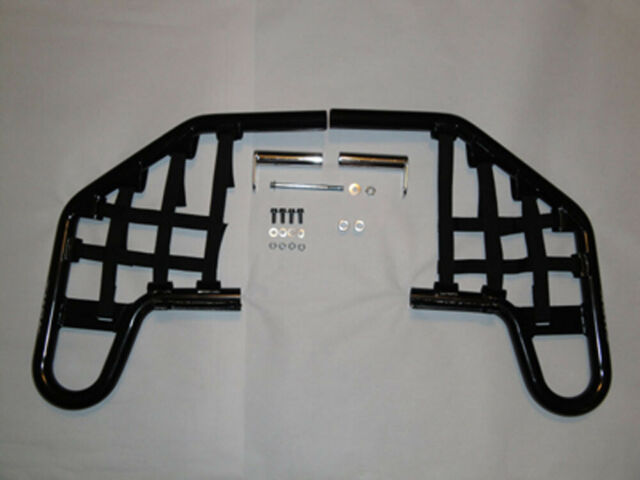 Comp Series Nerf Bars Silver With Black Webbing for Yamaha BLASTER 200 1988-2006