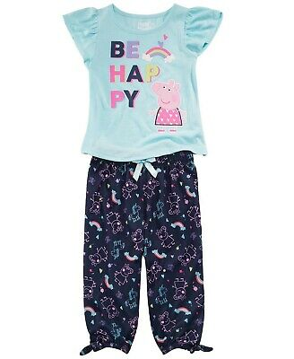 Peppa Pig Toddler Boys George 2pc Pajama Pant Set Size 2T 3T 4T