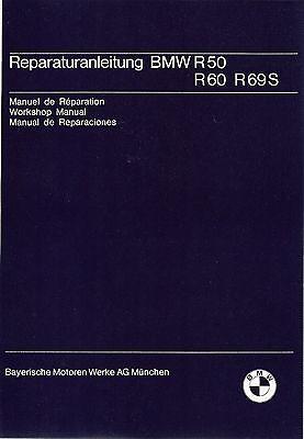 Betriebsanleitung 69 BMW Handbuch 60 Bordbuch R 50 R50 R60 R69 neu